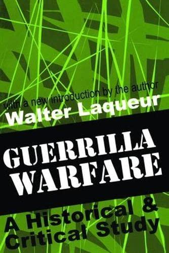 9780765804068: Guerrilla Warfare: A Historical and Critical Study