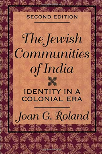 The Jewish Communities of India: Identity in: Roland, Joan G.