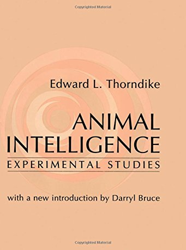 9780765804822: Animal Intelligence: Experimental Studies