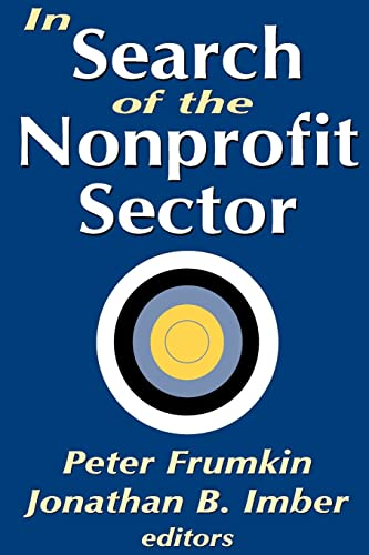 9780765805188: In Search of the Nonprofit Sector