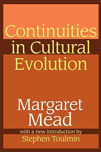 9780765806048: Continuities in Cultural Evolution