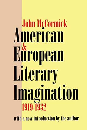 9780765806352: American and European Literary Imagination