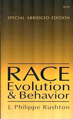 9780765806741: Race evolution & behavior