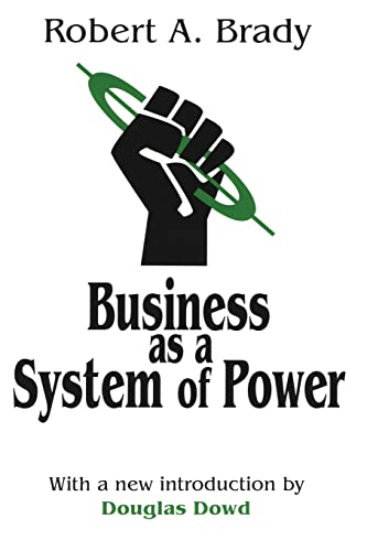 9780765806826: Business as a System of Power