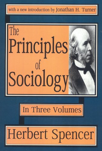 9780765807502: Principles of Sociology - Multi Volume Set: The Principles of Sociology: Volumes 1, 2 & 3: v. 1-3 (Social Science Classics)
