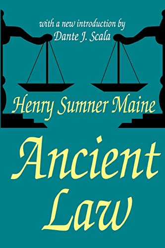 9780765807953: Ancient Law