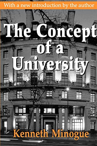 9780765808479: The Concept of a University