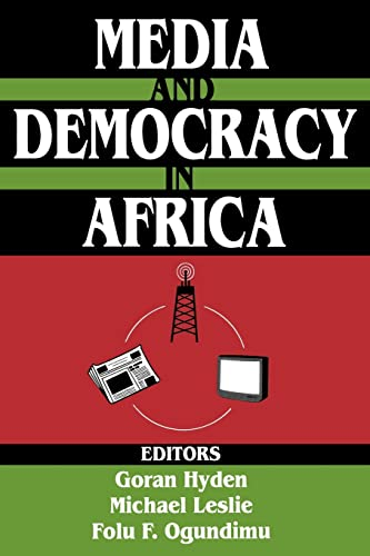 9780765809803: Media and Democracy in Africa