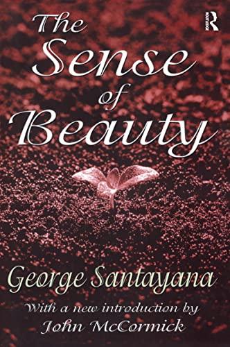 9780765809841: The Sense of Beauty