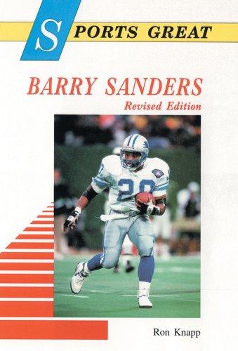 Sports Great Barry Sanders (Sports Great Books): Knapp, Ron, Knapp,