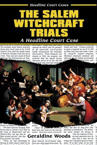 9780766013834: The Salem Witchcraft Trials (Headline Court Cases)