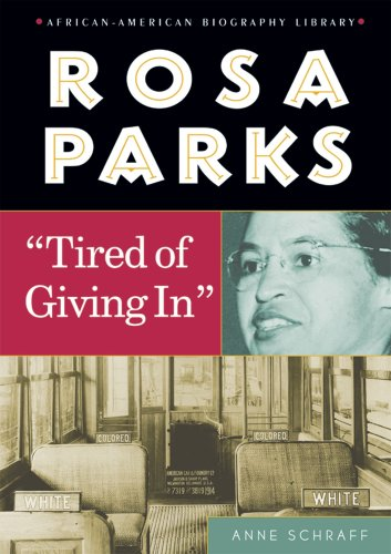 9780766024632: Rosa Parks: Tired of Giving in (African-American Biographies (Enslow))