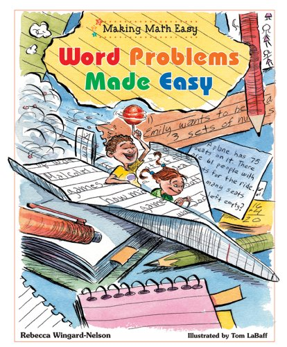 9780766025127: Word Problems Made Easy (Making Math Easy)