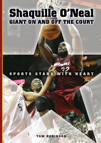 9780766028234: Shaquille O'Neal: Giant on And Off the Court (Sports Stars With Heart)