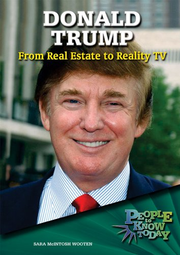 9780766028906: Donald Trump: From Real Estate to Reality TV (People to Know Today)