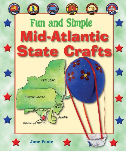 Fun and Simple Mid-Atlantic State Crafts: New York, New Jersey, Pennsylvania, Delaware, Maryland, ...