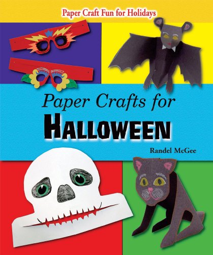 9780766029477: Paper Crafts for Halloween (Paper Craft Fun for Holidays)