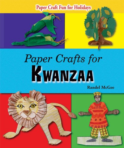 9780766029491: Paper Crafts for Kwanzaa (Paper Craft Fun for Holidays)