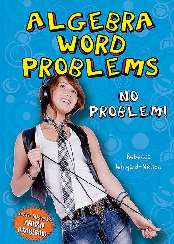 9780766033672: Algebra Word Problems: No Problem! (Math Busters Word Problems)