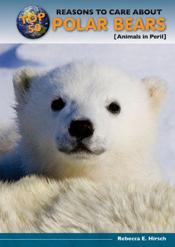 Top 50 Reasons to Care about Polar Bears: Animals in Peril (Hardback): Hirsch Rebecca Eileen