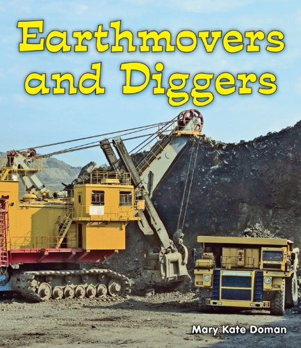 9780766039315: Earthmovers and Diggers (All About Big Machines: Guided Reading Level: C)
