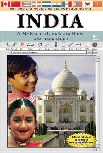 India: A Myreportlinks.com Book (Top Ten Countries: Harkrader, Lisa