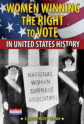 9780766060739: Women Winning the Right to Vote in United States History