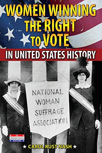9780766060746: Women Winning the Right to Vote in United States History