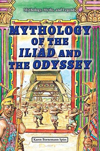 9780766061736: Mythology of the Iliad and the Odyssey (Mythology, Myths, and Legends)