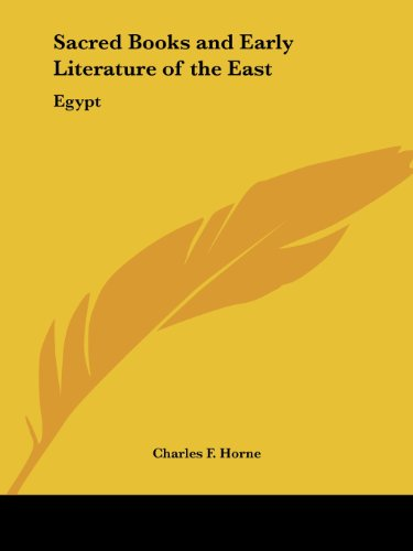 9780766100077: Egypt (Sacred Books and Early Literature of the East, Vol. 2) (Sacred Books & Early Literature of the East)