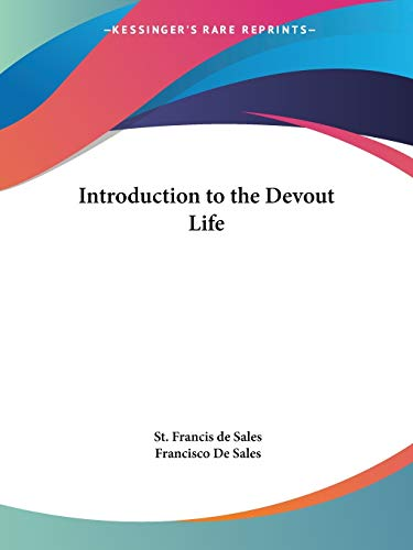 9780766100749: Introduction to the Devout Life