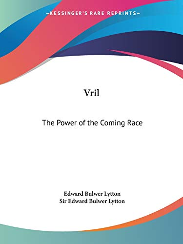 9780766101050: Vril: The Power of the Coming Race