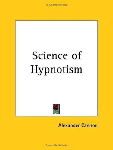 9780766101272: Science of Hypnotism (1936)