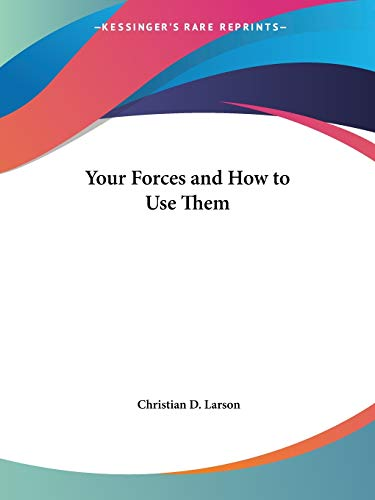 9780766101838: Your Forces and How to Use Them