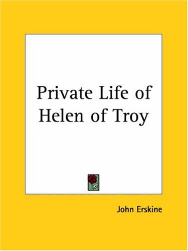9780766103566: Private Life of Helen of Troy