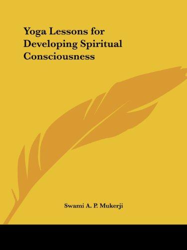 9780766126848: Yoga Lessons for Developing Spiritual Consciousness