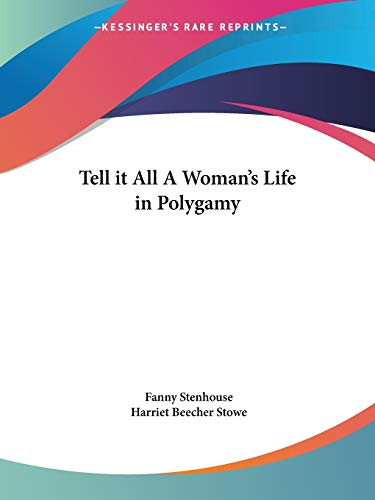 9780766128118: Tell it All A Woman's Life in Polygamy