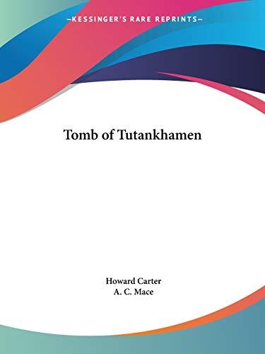 9780766129641: Tomb of Tutankhamen (1923)