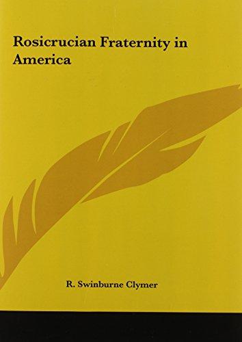 9780766130197: Rosicrucian Fraternity in America