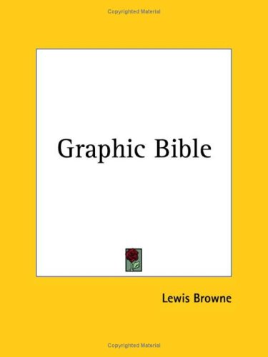 9780766130494: Graphic Bible 1928