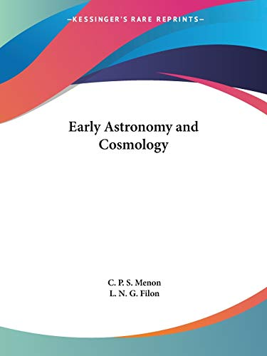 9780766131040: Early Astronomy and Cosmology