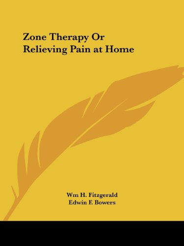 9780766132917: Zone Therapy or Relieving Pain at Home
