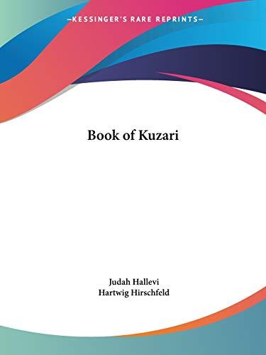 9780766133280: Book of Kuzari