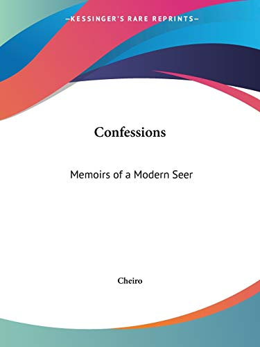 9780766134447: Confessions: Memoirs of a Modern Seer