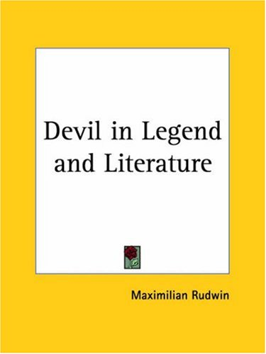 9780766134690: The Devil in Legend and Literature