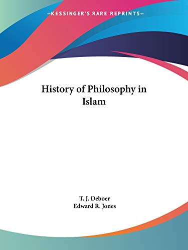 9780766136076: History of Philosophy in Islam