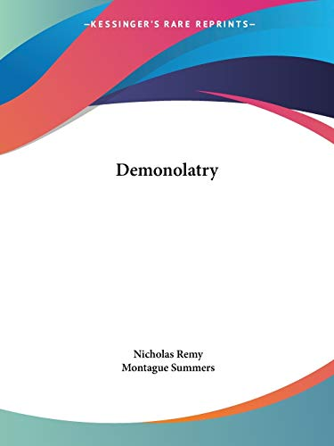 9780766136304: Demonolatry (1929)