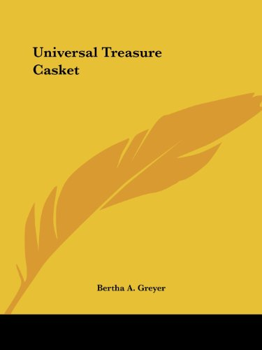 9780766139039: Universal Treasure Casket (1900)