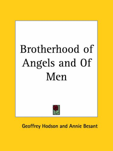 9780766139152: The Brotherhood Of Angels And Of Men