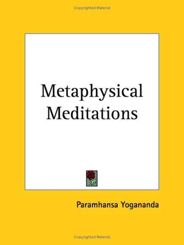 9780766139763: Metaphysical Meditations